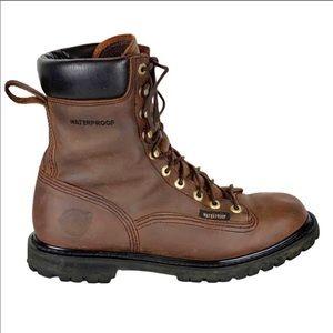 Justin Original Leather Waterproof EH Work Boots